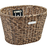 Electra Basket Electra Plastic Woven Light Brown/Black