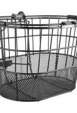SunLite Sunlite Mesh Bottom Lift-Off Oval Basket Black