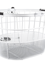 SunLite Sunlite Mesh Bottom Lift-Off Oval Basket White
