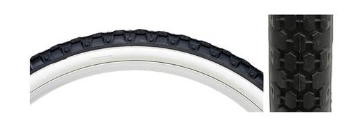 Kenda 26x2.125 WHT/BLK Knobby Tire