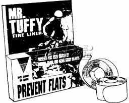 Mr. Tuffy Mr. Tuffy Tire Liner 700x28-32&26-24x1-3/8 BLU HYB&CRUS #41302