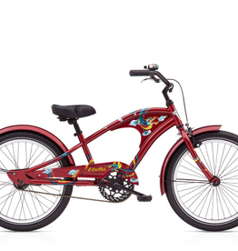 "Electra Electra Firetail 1, 20"" Boys', Scorched Red"