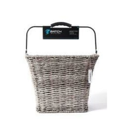 Batch Batch Grey Wicker Tote Basket