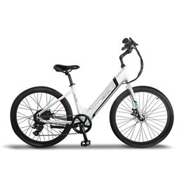 Emojo Emojo RunnerX Flyer, Electric Beach Cruiser - White, 500 WATT, 36V