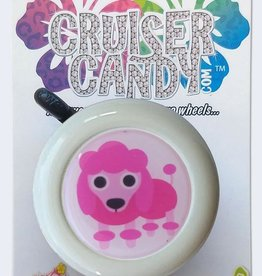 Cruiser Candy Cruiser Candy Pink Poodle Bell