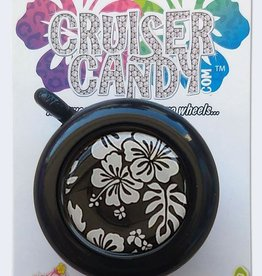 Cruiser Candy Cruiser Candy Black White Hibiscus Bell