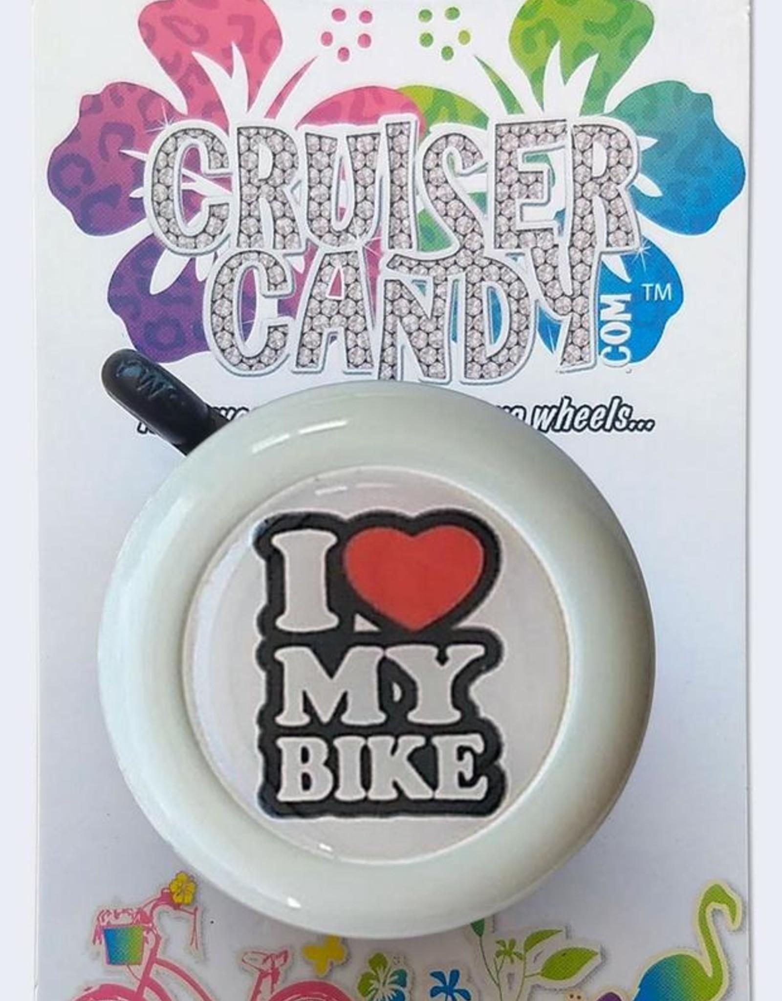 Cruiser Candy Cruiser Candy I Love My Bike Bell