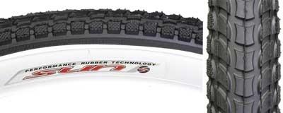 Kenda Sunlite 927 26x 2.125 Sun logo street tire blk/wht