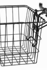 Wald Wald removable basket #3133 w/permanent bracket, black