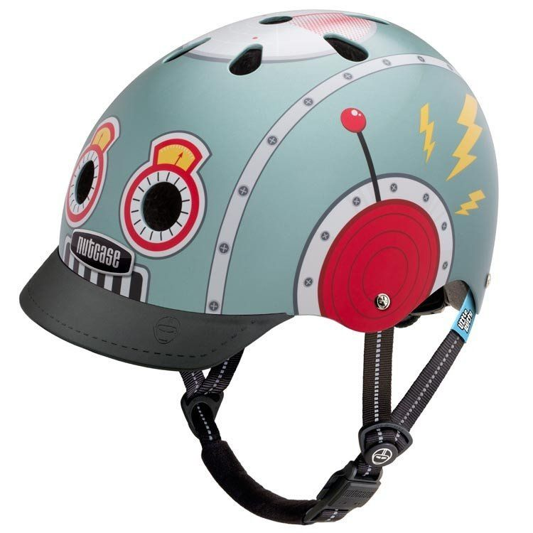Nutcase Little Nutty Tin Robot Helmet XS