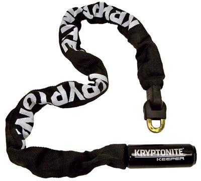Kryptonite Kryptonite Keeper 785 Integrated <br />Chain Lock, 3 Feet, Black