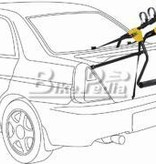 Saris Saris Sentinel 3 bike carrier auto rack #1052