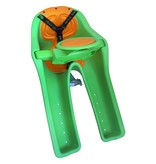 J & B Importers iBert Safe-T Front Mounted Child Bicycle Seat Green 38lb max