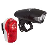 Planet Bike Planet Bike Superflash/Blaze Set, head & tail light set