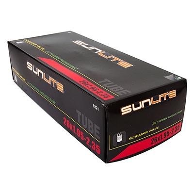 SunLite 26 x 1.95 - 2.35  Thorn Resistant Tube 32mm SV