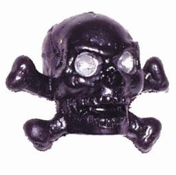 Triktopz Triktopz Chrome Skull & Crossbones Valve Caps