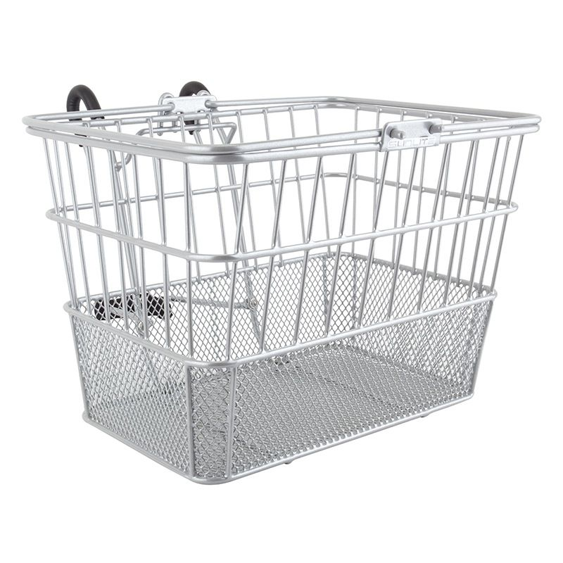SunLite SunLite/ultracycle Mesh Bottom Lift-Off Basket Silver