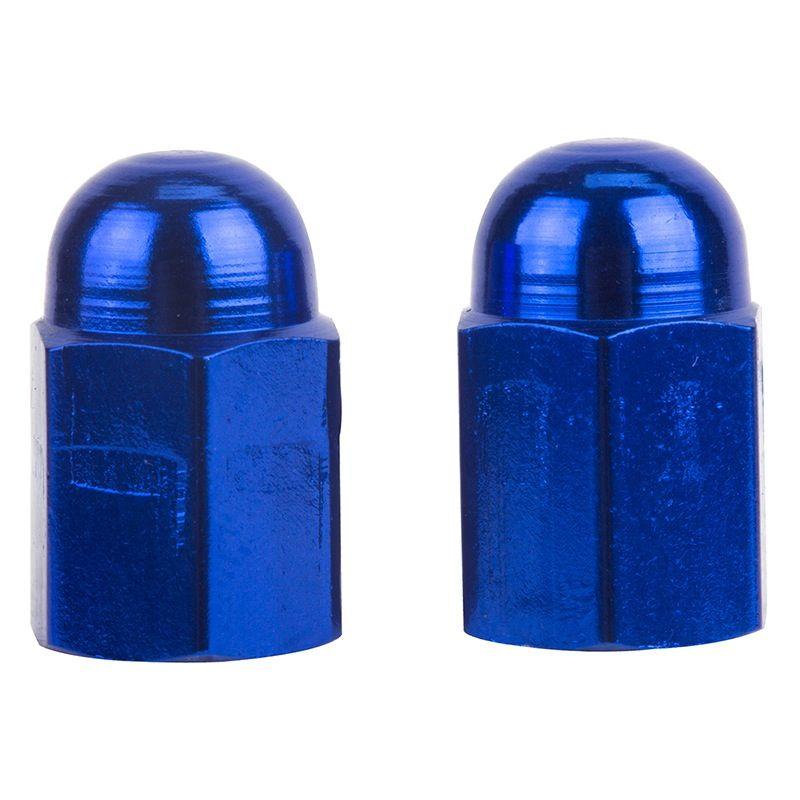 Triktopz Triktopz Hex Blue Dome Valve Caps