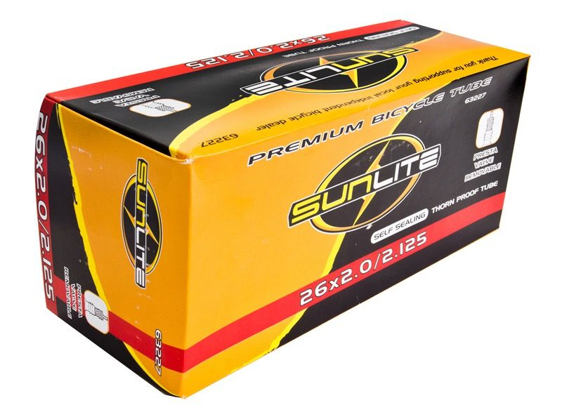 SunLite SunLite 26 x 1.90-2.35 Thorn Resistant Tube PV