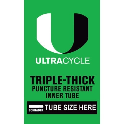 Ultracycle SunLite 20 x 1.90-2.125 Thorn Resistant Tube SV