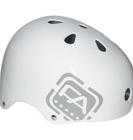 Free Agent Free Agent Street Helmet, gloss white one size fits all