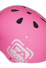 Free Agent Free Agent Street,gloss pink one size fits all - helmet