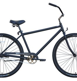 "Firmstrong Firmstrong Beach Cruiser 29"", Men's, Matte Black"