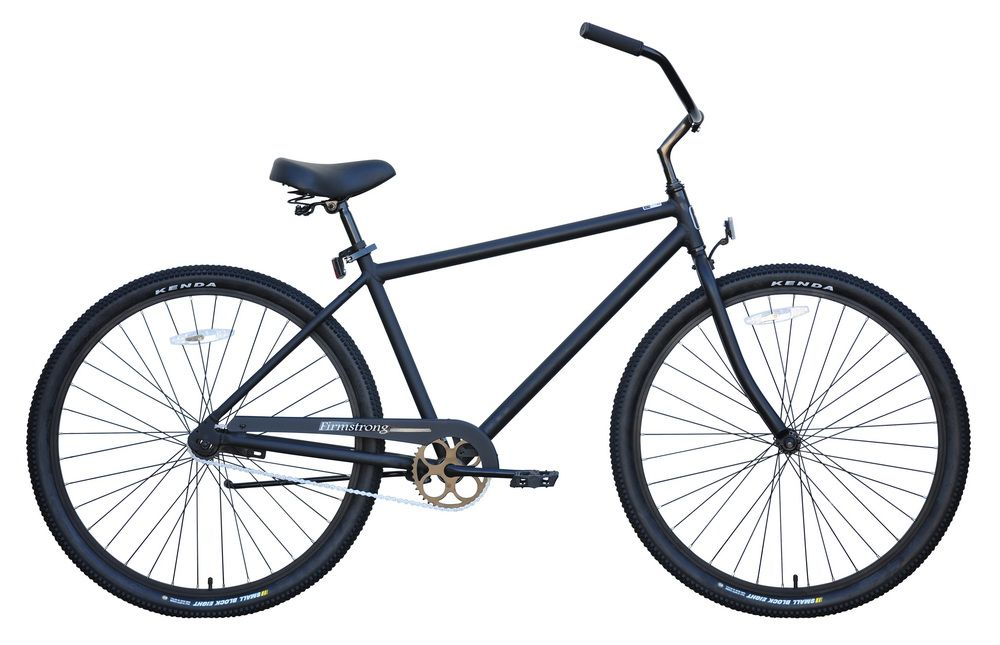 "Firmstrong Beach Cruiser 29"", Men's, Matte Black"