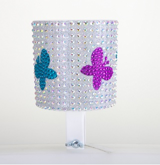 Cruiser Candy Butterfly Rhinestone Drink Holder