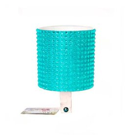 Cruiser Candy Blue Rhinestone Drink Holder