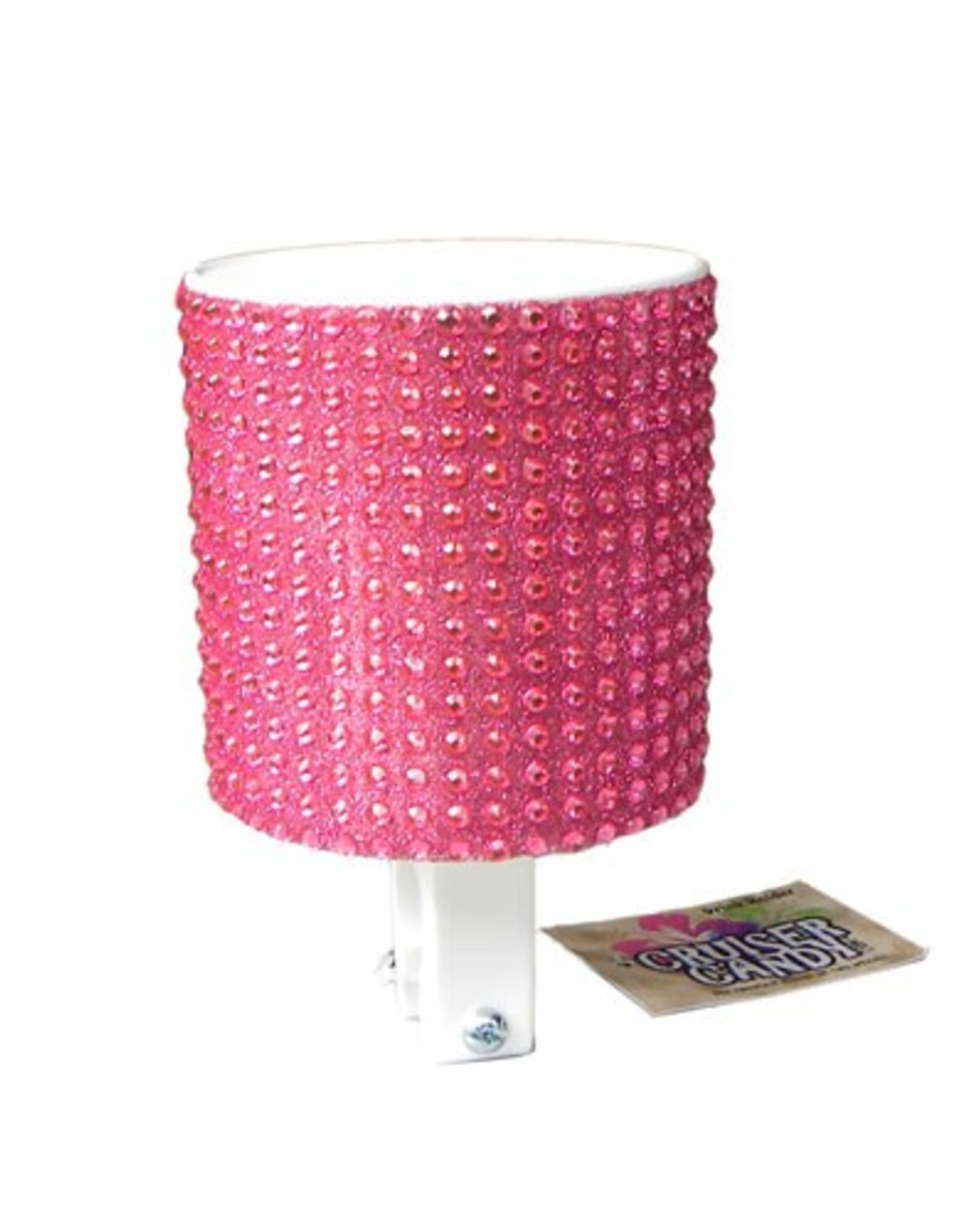 Cruiser Candy Pink Bubble Gum Rhinestone Drink Holder
