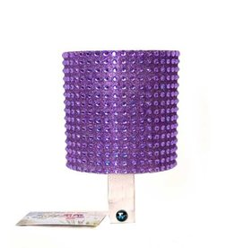 Cruiser Candy Purple Rhinestone Drink Holder