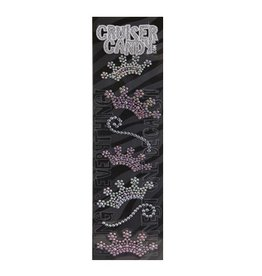 Cruiser Candy Crown Rhinestone Decals