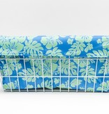 Cruiser Candy Large Basket Trike Liner - Blue/Green Hibiscus