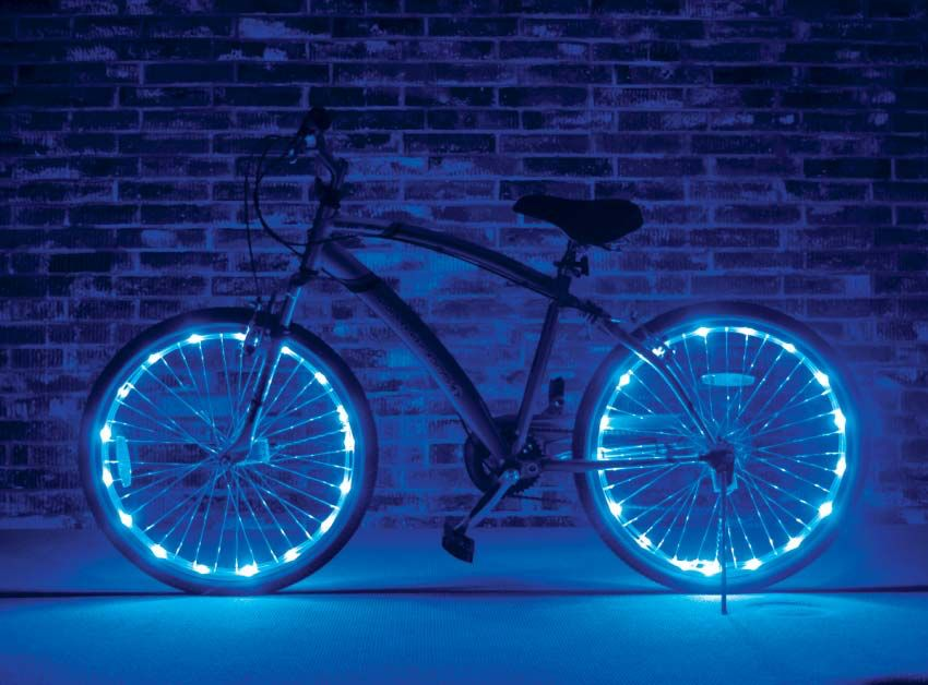 Brightz, Ltd. Wheel Brightz LED Lights Blue (ONE WHEEL)