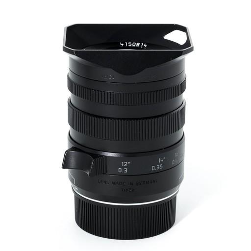 Used 16-18-21 Tri-Elmar f/4 ASPH w/ Box, Caps, Case, B+W 67mm Filter, and E67 Filter Holder