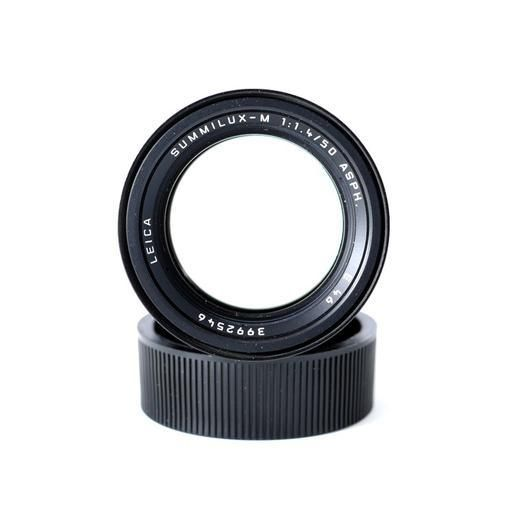 Used Leica 50mm Summilux-M, Black (11891), 6 Bit Coding_2546