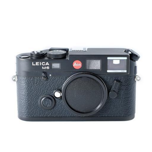Used Leica M6 TTL  Film Camera (.85 Finder) w/14405 Grip_3392
