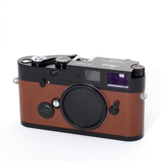 Used MP (a la carte) Black / Brown (.58 Finder) w/ Booklets, Box, Protector, and Strap