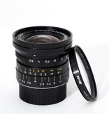 Used 21mm Elmarit 2.8 ASPH w/ Booklet, Case, B+W Filter, and Hood