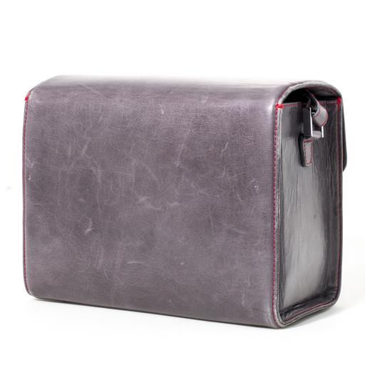 Used System Case - Small Leather Stone Grey