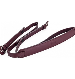 Strap - Full Grain Cowhide Boysenberry w/ Neck Pad