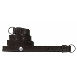 Strap - Traditional Dark Brown Box Calf Leather w/ Neck Pad