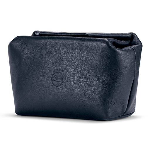 Pouch - C-Lux Small Soft Leather w/ Magnetic Closer (Blue)