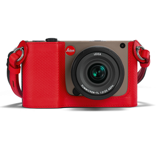 Camera Protector Leather Red (TL