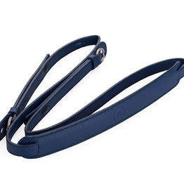 Strap - Full Grain Cowhide Dark Blue w/ Neck Pad