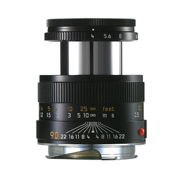 90mm / f4.0 Macro Elmar Set w/Macro Adapter and Angle VF (E39) (M)**