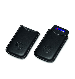 SD and Credit Card Holder Leather Black**