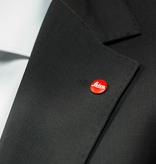 Soft Release Button: 'M' 8mm Black