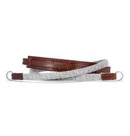 Strap - Leather / Fabric  Grey CL